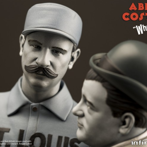 """Statua in resina Limited Edition Abbott & Costello """"Who's on First?"""" - 11"""