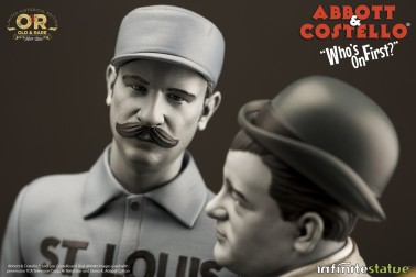 """Abbott & Costello """"Who's on First?""""resin statue - 11"""
