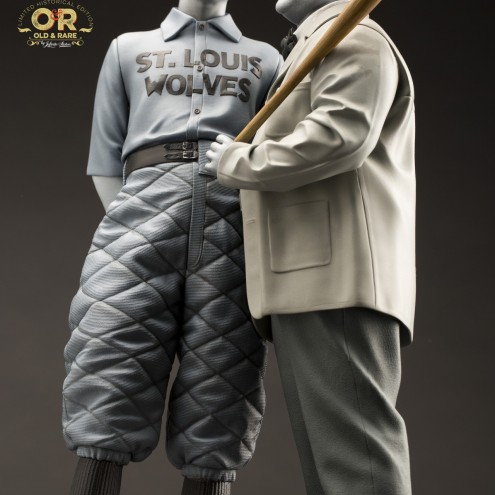 """Abbott & Costello """"Who's on First?""""resin statue - 12"""
