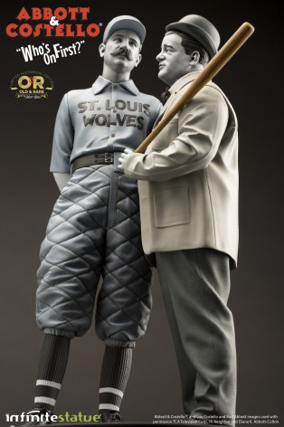 """Statua in resina Limited Edition Abbott & Costello """"Who's on First?"""" - 12"""