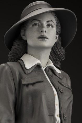 Superb statue limited edition dedicated to Ingrid Bergman - 1