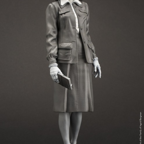 Superb statue limited edition dedicated to Ingrid Bergman - 2