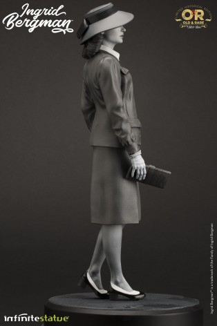 Superb statue limited edition dedicated to Ingrid Bergman - 3
