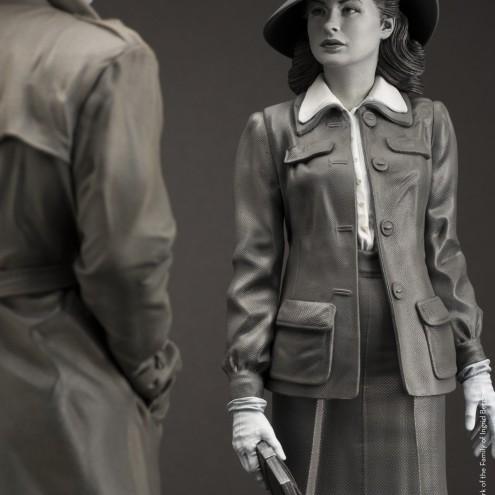 Superb statue limited edition dedicated to Ingrid Bergman - 9