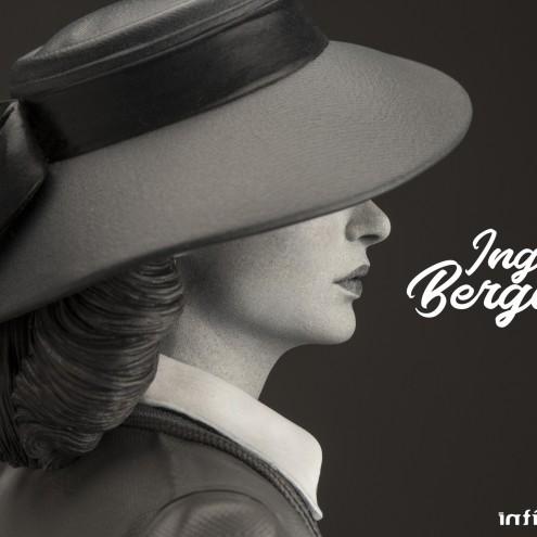Superb statue limited edition dedicated to Ingrid Bergman - 10