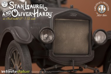 Laurel & Hardy on Ford Model T 1:12 scale resin statue - 10