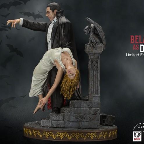 Bela Lugosi as Dracula limited-edition resin statue - 3