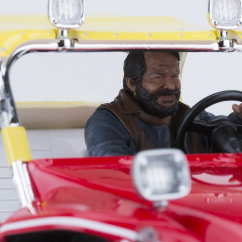 Bud Spencer on Dune Buggy 1:18 riproduzione in resina - 10