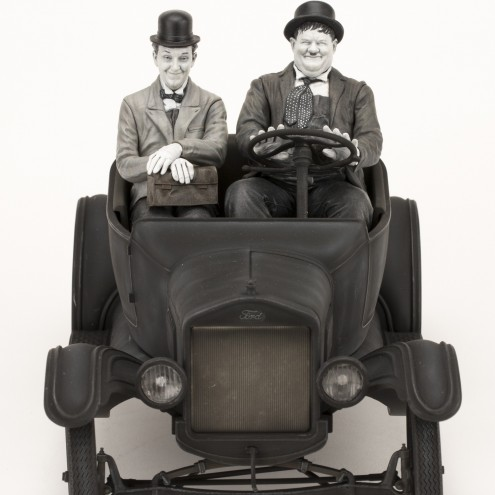 Laurel & Hardy on Ford Model T 1:12 scale - 20