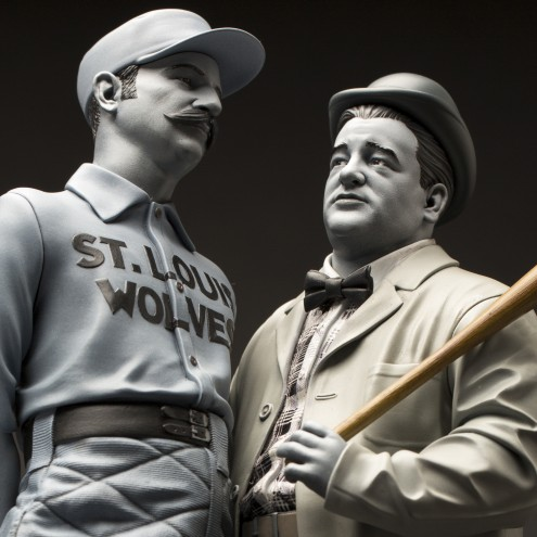 """Statua in resina Limited Edition Abbott & Costello """"Who's on First?"""" - 13"""