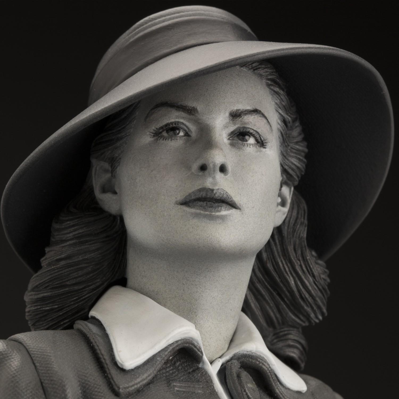 Superb statue limited edition dedicated to Ingrid Bergman - 13