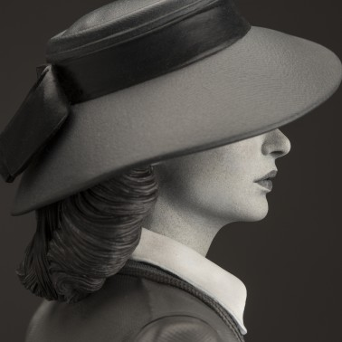 Superb statue limited edition dedicated to Ingrid Bergman - 14