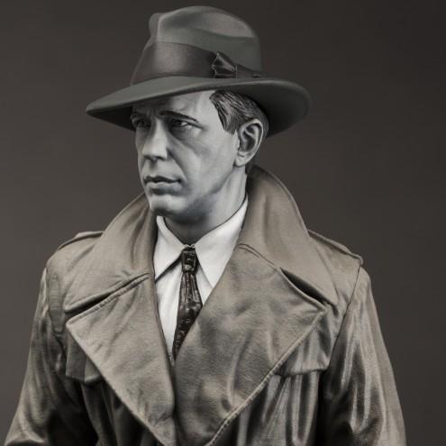 Statua in resina di Humphrey Bogart - 13