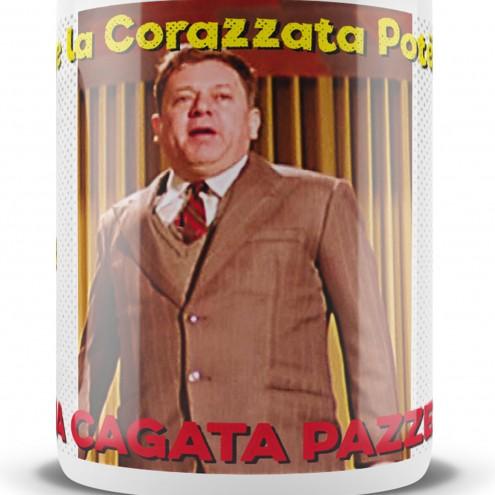 Le Fantotazze 4 ceramic mugs dedicated to Fantozzi - 7