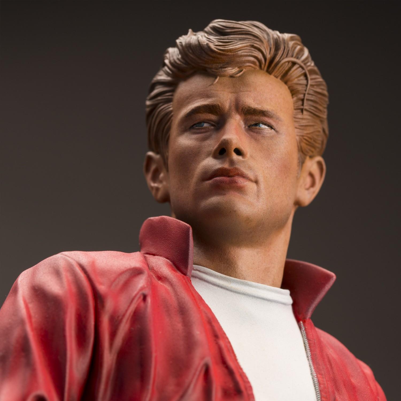 Straordinaria statua in resina James Dean - 13