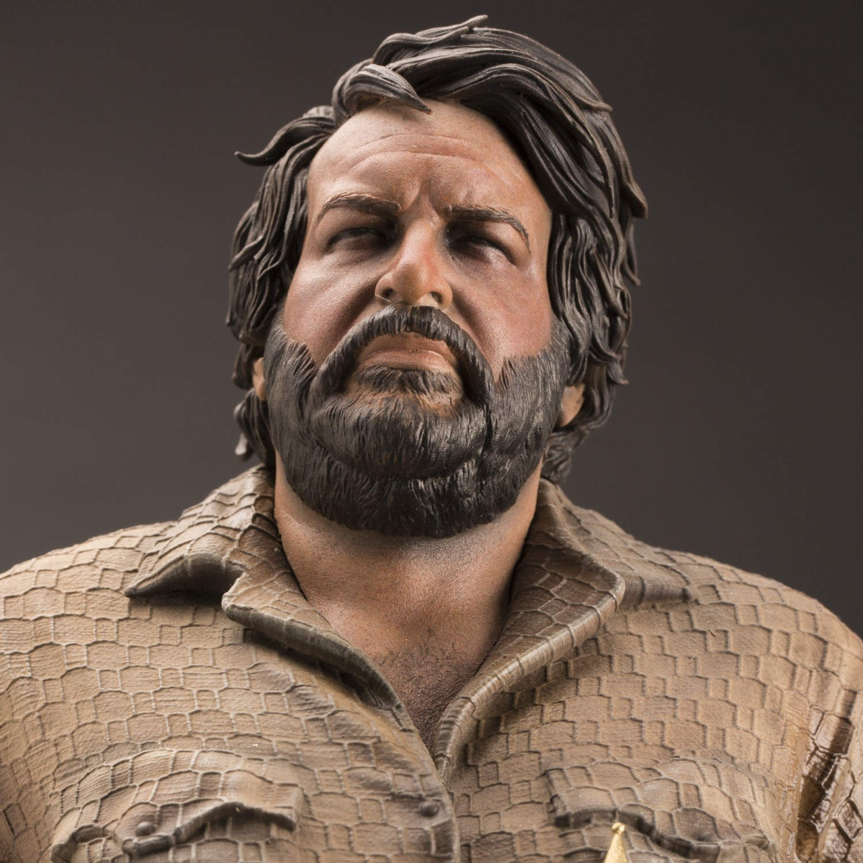 Statua in resina scala 1:6 di Bud Spencer - 16