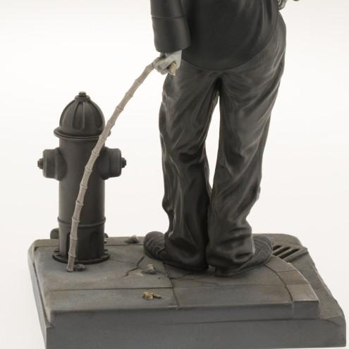 Statua del personaggio del Vagabondo di Charlie Chaplin - 13
