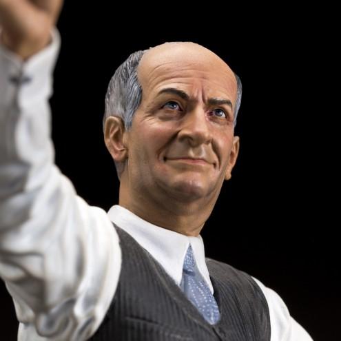 Louis De Funès is Stanislas Lefortresin statue hand-painted - 17