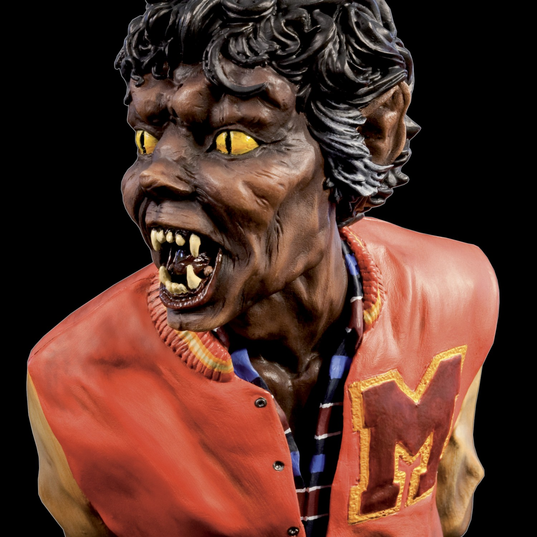 The statue ofMichael Jackson's Thriller -9
