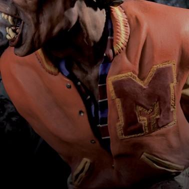 The statue ofMichael Jackson's Thriller -10