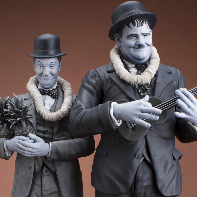 La statua di Stan Laurel & Oliver Hardy - 13
