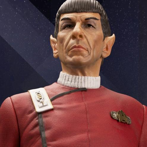 Leonard Nimoy nei panni celebre Capitano Spock - statua-18