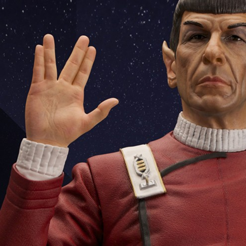 Leonard Nimoy as Captain Spock 1/3 scale museum statue - 12