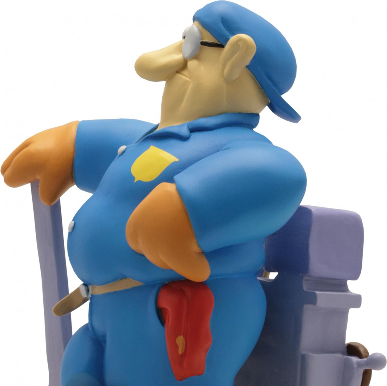 Statua di Cipputi operaio metalmeccanico in tuta blu - 8
