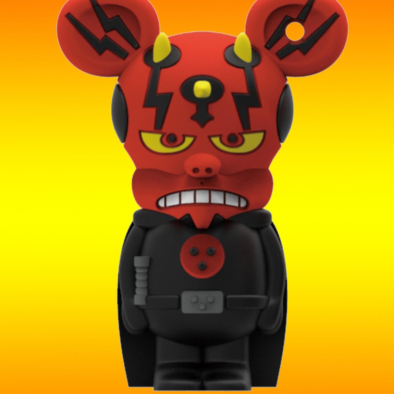 Dark Mouse USB flash drive 8GB Rat-Man - 5