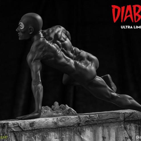 Statua da collezione diDiabolik in edizione Ultra Limited - 4