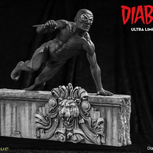 Statua da collezione diDiabolik in edizione Ultra Limited - 5