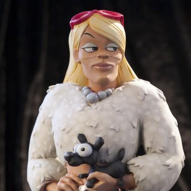 Rat-Man Infinite Collection | The statue ofCinzia Otherside - 6