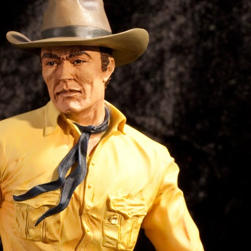 The statue of the first 3D portrait of Tex - 10
