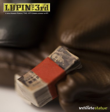 Statua Edizione Limitata Lupin III in resina dipinta a mano - 9