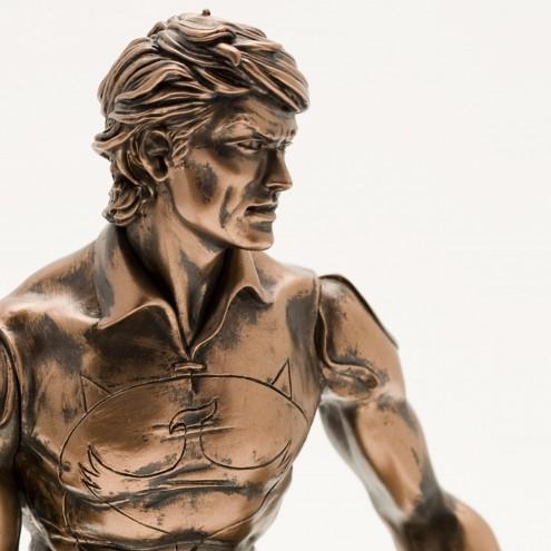 """Zagor ULZagor statua """"effetto bronzo"""" - 9"""
