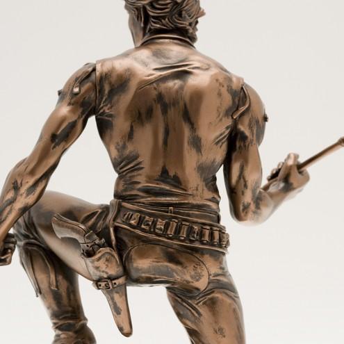 """Zagor ULZagor statua """"effetto bronzo"""" - 10"""