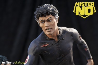 A unique statue without antecedents of Mister No - 5