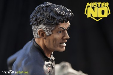 A unique statue without antecedents of Mister No - 8