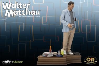 Walter Matthau 1/6 Limited Edition Resin Statue - 5