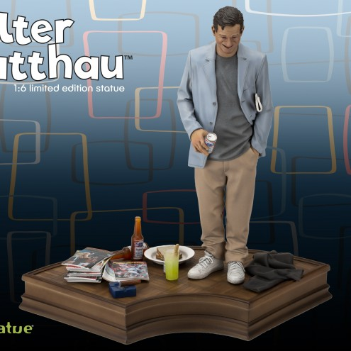 Walter Matthau 1/6 Limited Edition Resin Statue - 6