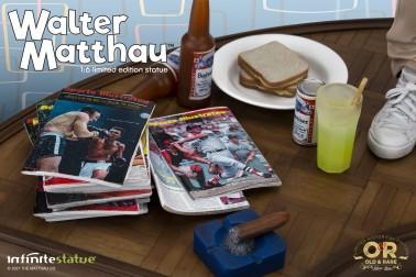 Walter Matthau 1/6 Limited Edition Resin Statue - 10