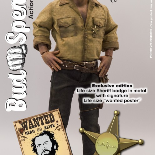 Bud Spencer Web Exclusive 1:6 Action Figure - 1