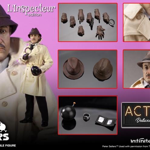 Peter Sellers L'inspecteur 1:6 action figure Web Exclusive - 6
