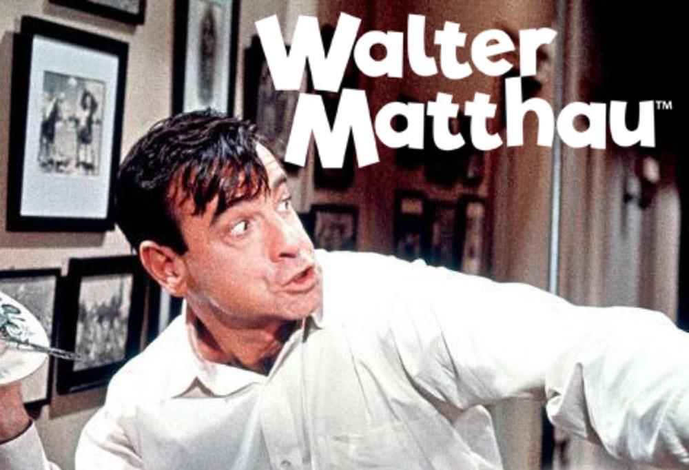 Walter Matthau: a grumpy genius