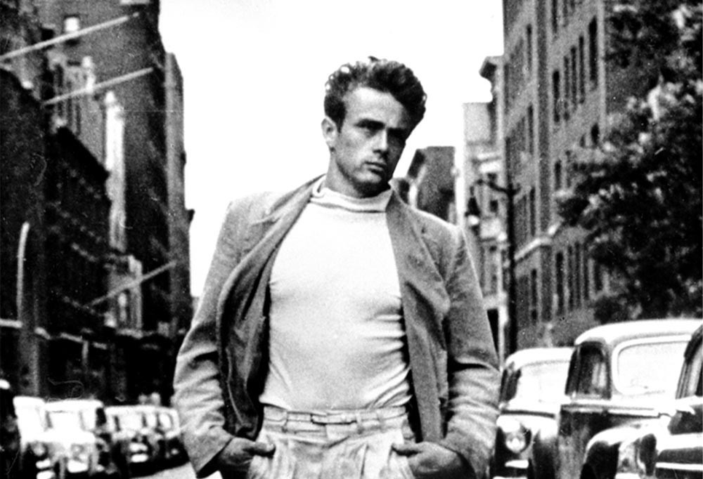 James Dean, the charm of the rebel